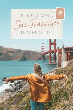 There's so much crammed into San Francisco's little peninsula! This San Francisco travel guide will help you make a memorable trip to the City by the Bay! Weekend In San Francisco, San Francisco Travel Guide, Usa Places To Visit, Travel Guides, Travel Tips, Travel Destinations, Destination Voyage, California Travel, Travel Usa