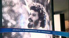 """Corinthians homenageia Sócrates em amistoso contra """"xará"""" inglês - Vídeos - R7"""