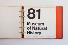 New York City Transit Authority Graphics Standards Manual | Massimo Vignelli/Unimark International 1970