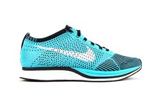 4ceae829f9e Image of Nike Flyknit Racer Turquoise/White/Black Nike Sweatpants, Nike  Leggings,