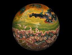 Ocean Jasper Sphere from Madagascar