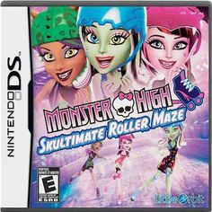 Monster High: Skultimate Roller Maze - Nintendo DS