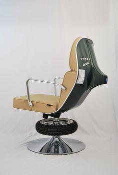 Bel   其實很像理髮廳的椅子