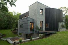 The Open Air Sculpture House by Marek Rytych Architekt
