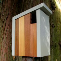 Birdhouse Modern Minimalist The Flying Dutchman von twigandtimber, $85.00