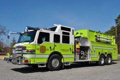 Tanker 1201 - Pinewood Estates Volunteer Fire Company