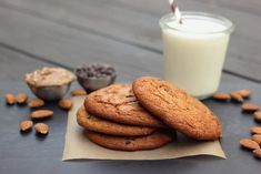Restricted Diets: Grain-Free Almond Butter Chocolate Chip Cookies