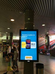Digital display Zagreb
