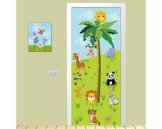 Ζωάκια της ξηράς, αυτοκόλλητο πόρτας παιδικό Village Houses, Baby Room, House Ideas, Boys, Life, Baby Boys, Room Baby, Infant Room, Guys