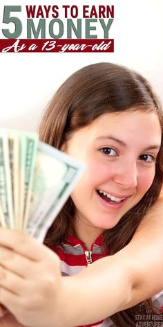 are many ways to earn money as a that are not complicated and give parents and teens more control on how to earn it. Learn how here. Ways To Get Money, Make Quick Money, Earn Money Fast, Money Tips, Making Money Teens, How To Earn Money For Teens, Jobs For Teens, Teen Jobs, Teen Money