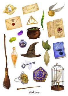 Harry Potter stickers set А5