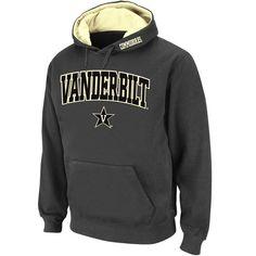 Vanderbilt Commodores Stadium Athletic Arch & Logo Pullover Hoodie - Charcoal - $34.99