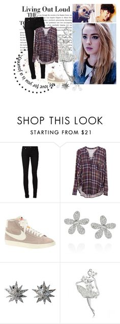 """""""RedBlood"""" by alex99-31 ❤ liked on Polyvore featuring Yves Saint Laurent, Lush Clothing, J.Crew, Kenneth Jay Lane and Ileana Makri"""