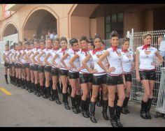 Formula One Grid Girls 2012  Formula One grid girls from around the world.  Credit: SPEED/Adam Cooper Date: July 31, 2012