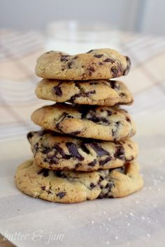 NY times best-ever chocolate chip cookies recipe from {Butter & Jam}