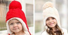Darling Snowball Winter Hats | Jane. Maddisyn Light Pink, $4.99
