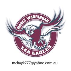 Manly Warringah Sea Eagles, National Rugby League, Sydney, New South Wales, Australia Footy Games, Australian Rugby League, Manly Sydney, Newcastle Knights, National Rugby League, Band On The Run, Eagles Vs, Rugby Sport, League Table