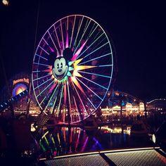 Disney California Adventure. World of Color.