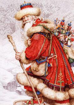Father Christmas -Yvonne Gilbert