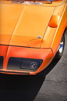 Hemi Orange 1970 Plymouth Superbird - by Gordon Dean II