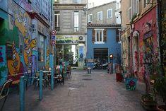 Cours Julien, Marseille Lonely Planet, Illustration, France, Tourism, Travel, Illustrations
