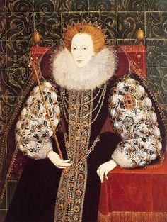 Circ. 1570 ~ Queen Elizabeth I ~ National Maritime Museum, Greenwich