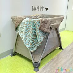 The super portable Nuna Sena playard is here with the squashy Magnolia Line Cuddle Blue blanket - because sometimes you just need to take naptime to go. #HaveBabyWillTravel  http://www.pishposhbaby.com/nuna-sena-2014.html