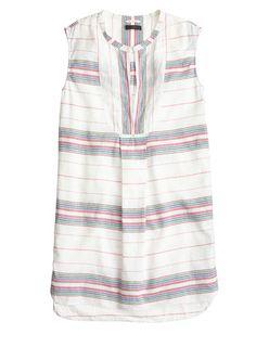 vintage stripe tunic || perfect swim cover-up