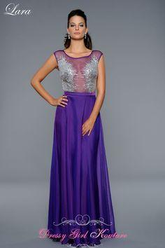 Lara Design 42351 Daring purple look #Promdress2014 #SpecialOccasionDresses #LaraDesign2014 $358