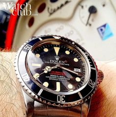 Vintage 'Double-red' Sea-dweller ref. 1665 made in 1977... Old school!