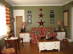 Living room by Wren's Nest Cottage, via Flickr