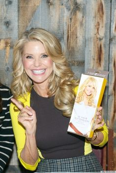 """The bigger the hair, the smaller the hips!"" #ChristieBrinkley"