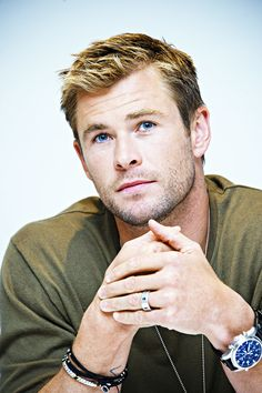 Chris Hemsworth at the 'Blackhat' Press Conference at the Four Seasons Hotel on January 6, 2015 in Beverly Hills, California