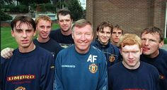 Sir Alex was so proud of his young players - and helped those who he had to let go