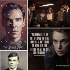 """If The Imitation Game is a war movie it is about the war on what is """"normal"""". If you are an outsider of the norm you loss even you save the world. Sadly it is still true :( #theimitationgame #netflix #normal #ww2 #gay #gayrights #jkhknyc #gaymovie #alanturing"""
