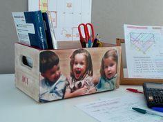 Caja, box decoupage photo. www.elpiojito.es