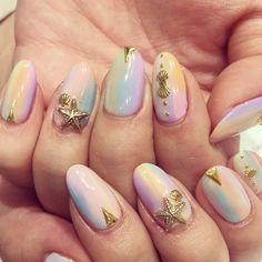 パステルスクラッチ✨#jillandlovers #nails #ネイル #nailart #paragel @nakajima_jun Web Instagram User » Collecto