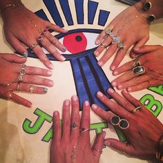 Rings and hand jewelry - By Couture, Wynn at JCK Vegas