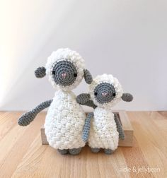 SHEEP PAIR crochet sheep amigurumi sheep baby gift gift for