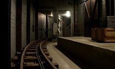 Robert Kusmirowski's Bunker at the Curve gallery, Barbican
