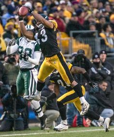Will miss Troy Polamalu and those impact plays that he made wearing the Black and Gold!