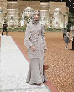 to my full dress for my beautiful sobi wedding . Kebaya Modern Hijab, Kebaya Hijab, Kebaya Dress, Dress Pesta, Kebaya Muslim, Muslim Dress, Kebaya Brokat, Dress Brukat, Hijab Dress Party