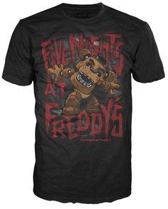 Pop! Tees: Five Nights at Freddy's - Freddy Fazbear