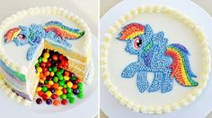 Torta Piñata - Rainbow Dash - My little Pony - Mi Pequeño Pony - Tan Dulce - YouTube