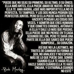 Bob Marley si sabe :)