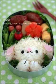 簡単型抜きでチーズのライオンくんのお弁当*キャラ弁 の画像 momoオフィシャルブログ「キミと一緒に ~momo's obentou*キャラ弁~」Powered by Ameba