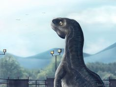 Raptor Blue from Jurassic World by dannylai05.deviantart.com on @DeviantArt