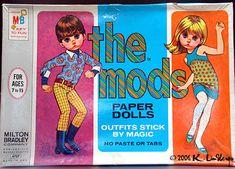 Bonecas de Papel: The Mods 1967. LOL I find their faces and poses oddly amusing.