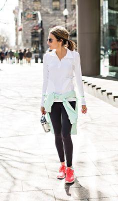 Guía para lucir tus leggings de la manera correcta - Page 8 of 10 - Mujer Daily                                                                                                                                                                                 More