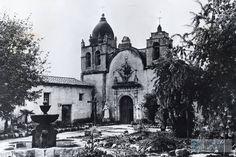 Misión de San Carlos Borromeo de Carmelo de California  ( Cabe destacar que aunque ya no pertenece a nuestro territorio mexicano en la actualidad ,Cuando fue fundada esta Misión, California pertenecía al territorio Mexicano , por este motivo la compartimos.)